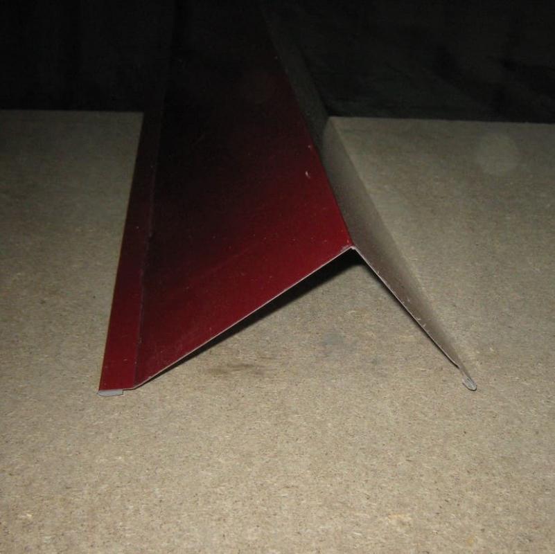 Ветровая (торцевая) планка 80 мм стандарт толщина 0,5 мм.