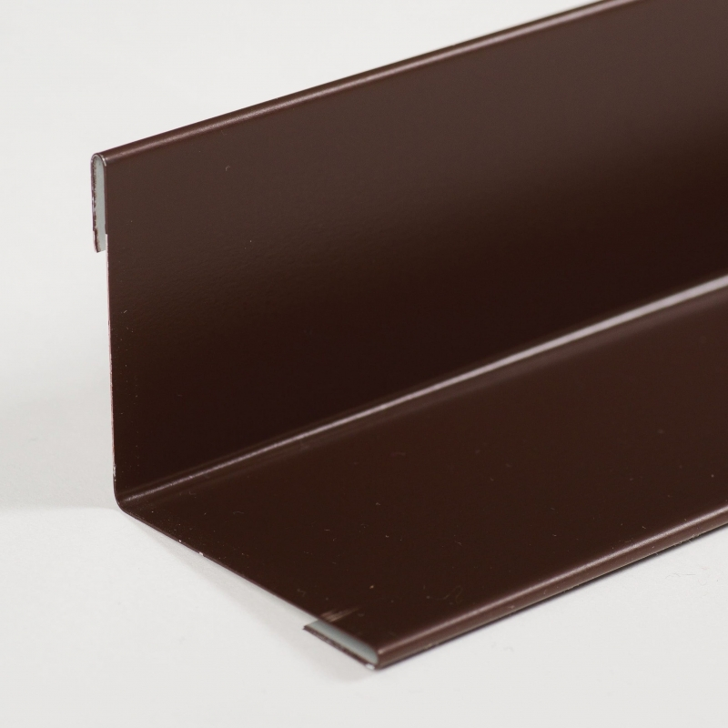 Угол внутренний плоский 50х50х2000 толщина 0,5 мм.